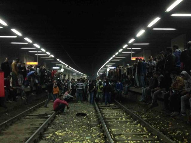 Metro station Bel Trew