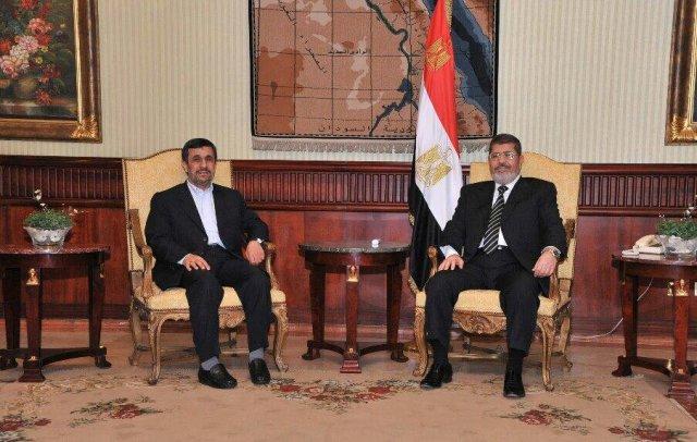 Ahmadinejad in Cairo