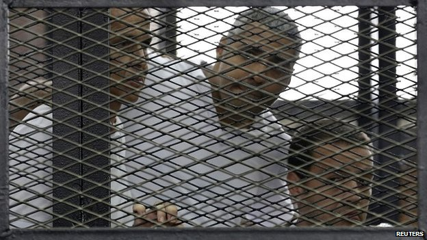 Al-Jazeera verdict photo