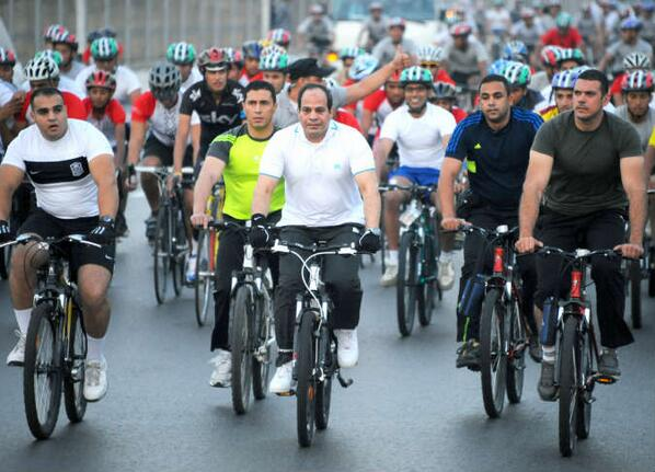 Sisi cycling