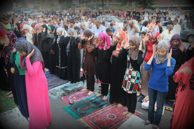 Eid prayer in Egypt  1