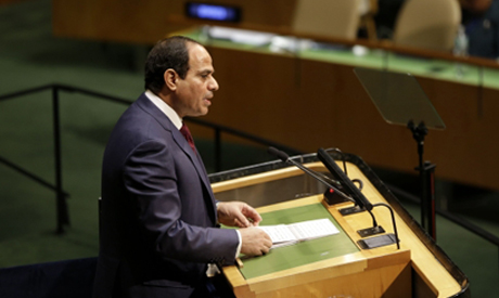 Sisi in UN