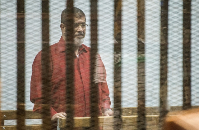 Morsi in red