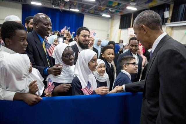 Obama mosque kids 2