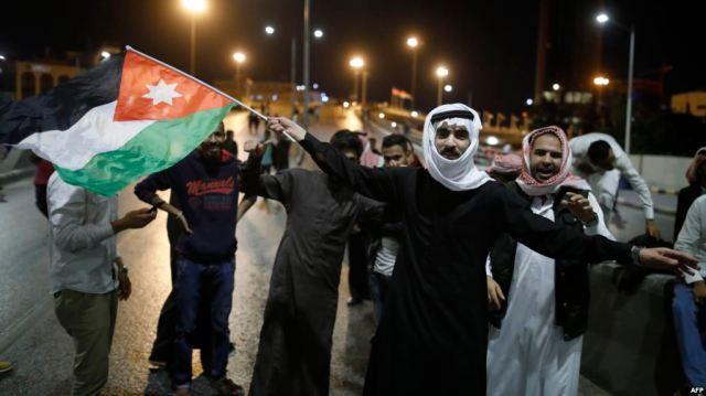Jordan protests