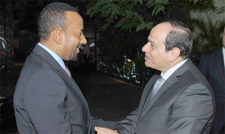 Sisi and Ethiopian PM