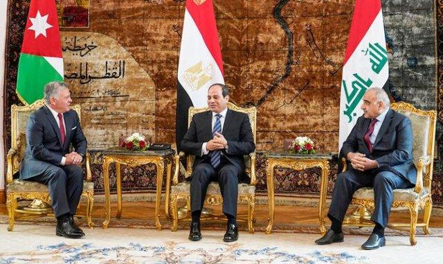 Sisi Iraq Jordan