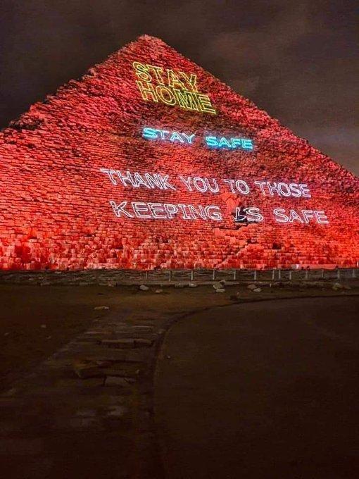 Pyramids corona